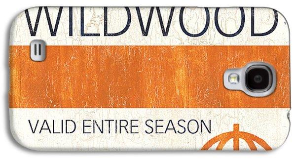 Relaxed Galaxy S4 Cases - Beach Badge Wildwood Galaxy S4 Case by Debbie DeWitt