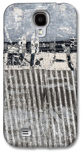 Beach Barrier Abstract Galaxy S4 Case by Carol Leigh