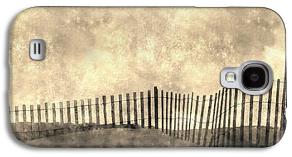 Abstract Nature Galaxy S4 Cases - Beach Fence Long Island Galaxy S4 Case by KM Corcoran