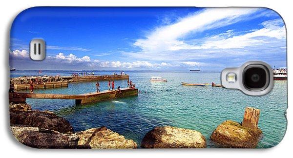 Slavery Galaxy S4 Cases - Beach in Goree Island Dakar Senegal  Galaxy S4 Case by Eduardo Huelin