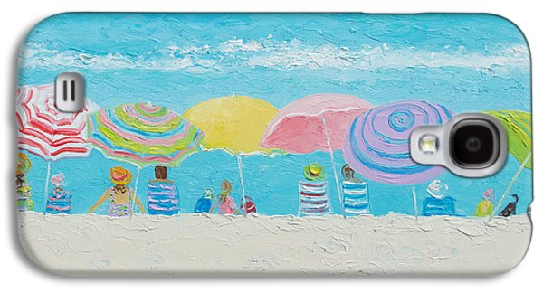 Beach Painting - Color Of Summer Galaxy S4 Case by Jan Matson