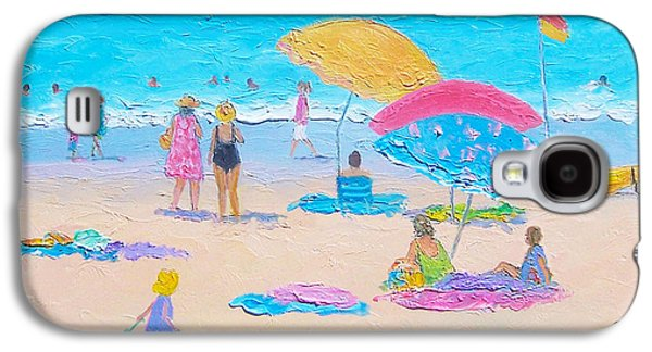 Beach Painting - Colors Of Summer  Galaxy S4 Case by Jan Matson