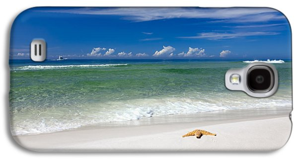 Seaside Galaxy S4 Cases - Beach Splendour Galaxy S4 Case by Janet Fikar
