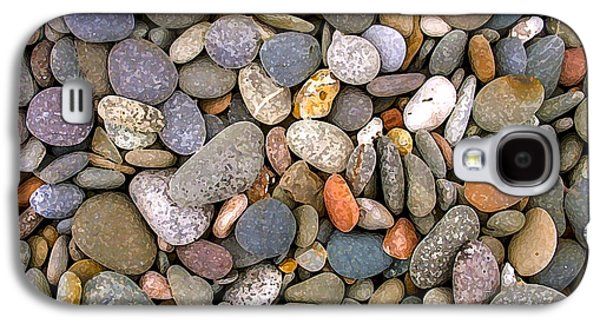 Stone Galaxy S4 Cases - Beach Stones And Pebbles Galaxy S4 Case by Sophie De Roumanie