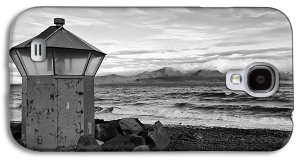 Beacon At Hvaleyrarviti In Iceland Bw Galaxy S4 Case by Andres Leon