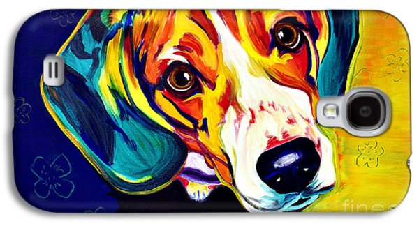 Hounds Galaxy S4 Cases - Beagle - Bailey Galaxy S4 Case by Alicia VanNoy Call