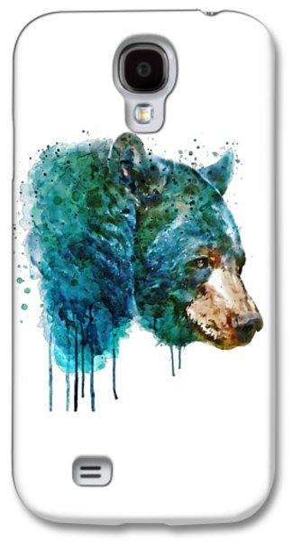 Bear Head Galaxy S4 Case by Marian Voicu