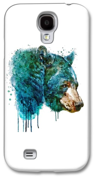 Bear Head Galaxy S4 Case by Marian Voicu