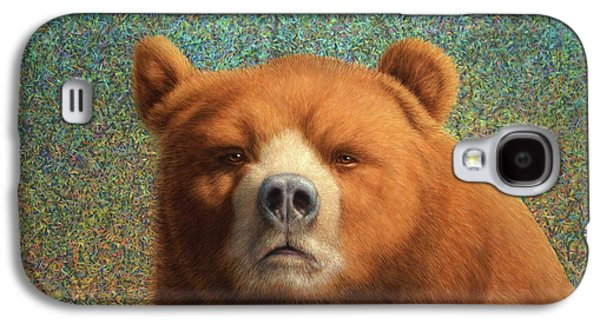 Furry Galaxy S4 Cases - Bearish Galaxy S4 Case by James W Johnson