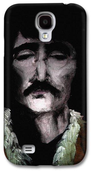 Beatles Galaxy S4 Cases - Beatle John Galaxy S4 Case by Nicholas Ely