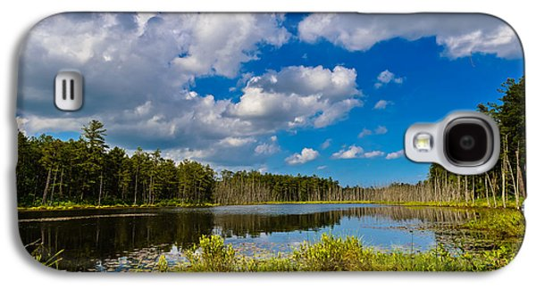 Pine Barrens Galaxy S4 Cases - Beautiful Afternoon in the Pine Lands Galaxy S4 Case by Louis Dallara