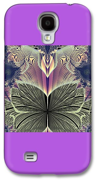Dance Ballet Roses Galaxy S4 Cases - Beautiful Butterfly Ballet Fractal Galaxy S4 Case by Rose Santuci-Sofranko