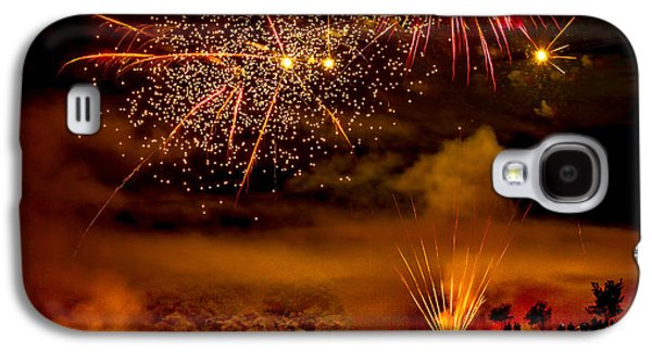 4th July Galaxy S4 Cases - Beautiful Fireworks Galaxy S4 Case by Robert Bales