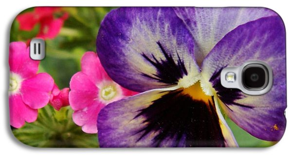 Girl Galaxy S4 Cases - Beautiful Flowers Galaxy S4 Case by Ilija Markovski