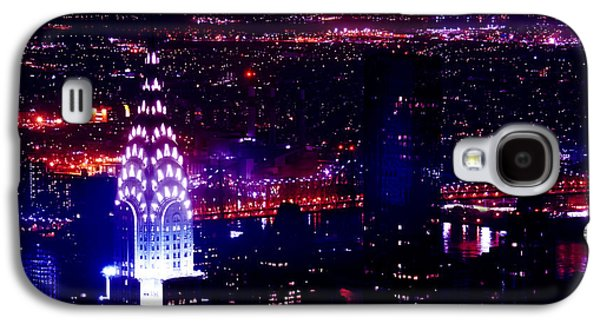 North American Photography Galaxy S4 Cases - Beautiful Manhattan Skyline Galaxy S4 Case by Az Jackson