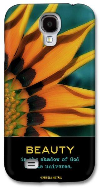 Floral Digital Art Digital Art Galaxy S4 Cases - Beauty Galaxy S4 Case by Bonnie Bruno
