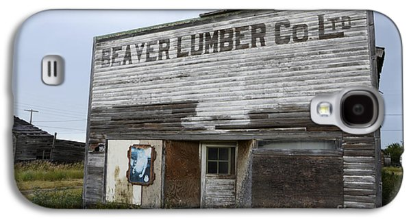 Beaver Lumber Company Ltd Robsart Galaxy S4 Case by Bob Christopher
