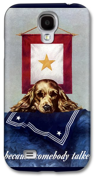 Because Somebody Talked - Ww2 Galaxy S4 Case by War Is Hell Store