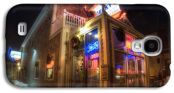 Becky's Diner - Vintage Diner - Portland Maine Galaxy S4 Case by Joann Vitali