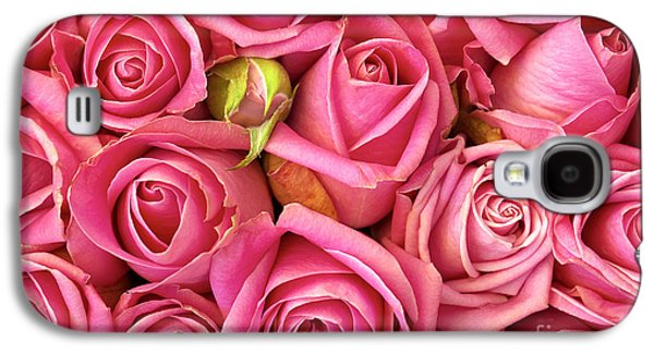 Roses Galaxy S4 Cases - Bed Of Roses Galaxy S4 Case by Carlos Caetano