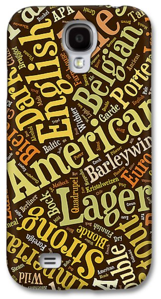 Beer Lover Cell Case Galaxy S4 Case by Edward Fielding