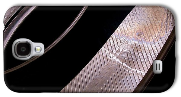 Automotive Galaxy S4 Cases - Before the Rubber Meets the Road Galaxy S4 Case by Rona Black