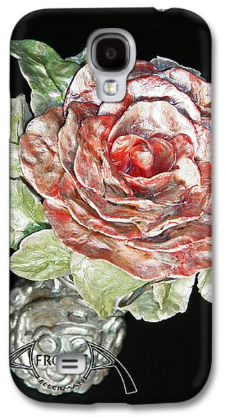 Floral Ceramics Galaxy S4 Cases - Beginning Galaxy S4 Case by Afrodita Ellerman