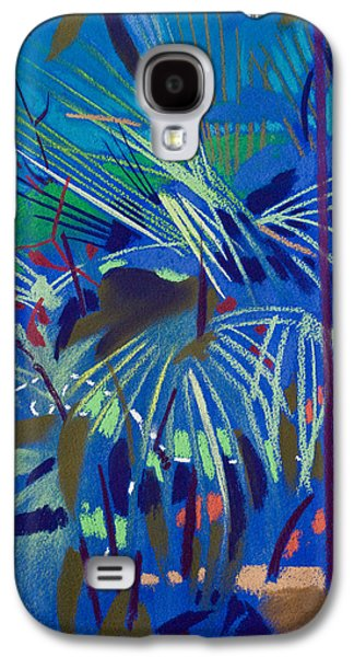 Floral Pastels Galaxy S4 Cases - Begonia Palm Galaxy S4 Case by Simon Fletcher
