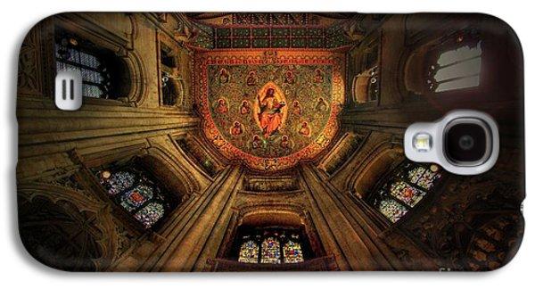 Jesus Christ Icon Galaxy S4 Cases - Believe Galaxy S4 Case by Yhun Suarez