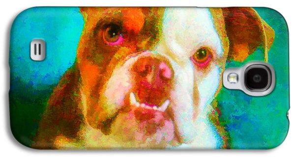 Boxer Galaxy S4 Cases - Bella 1 Galaxy S4 Case by Joye Ardyn Durham