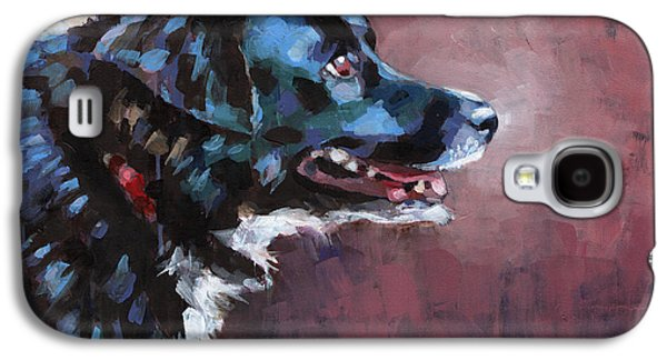 Cattle Dog Paintings Galaxy S4 Cases - Bella Galaxy S4 Case by Douglas Simonson