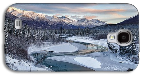 Snow-covered Landscape Galaxy S4 Cases - Bellevue Galaxy S4 Case by Ed Boudreau