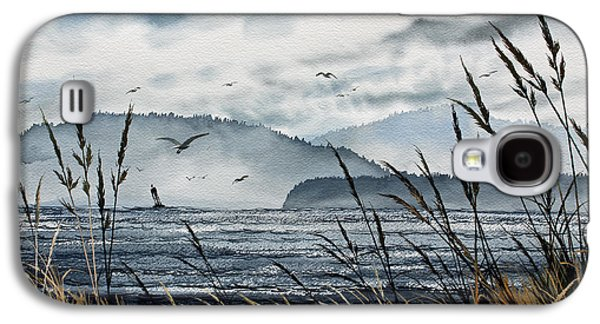 Landscape Framed Prints Galaxy S4 Cases - Bellingham Bay Galaxy S4 Case by James Williamson