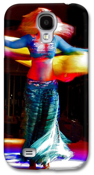 Belly Dance Galaxy S4 Case by Andy Za