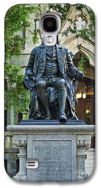 Ben Franklin At The University Of Pennsylvania Galaxy S4 Case by John Greim