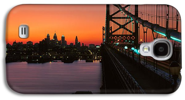 Ben Franklin Bridge Galaxy S4 Case by Panoramic Images