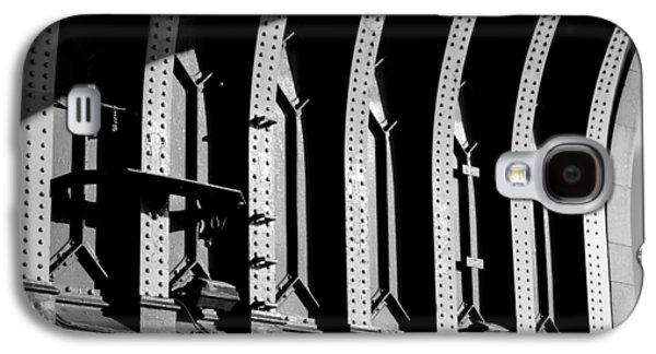 Landmarks Photographs Galaxy S4 Cases - Beneath the Bridge Galaxy S4 Case by Christi Kraft