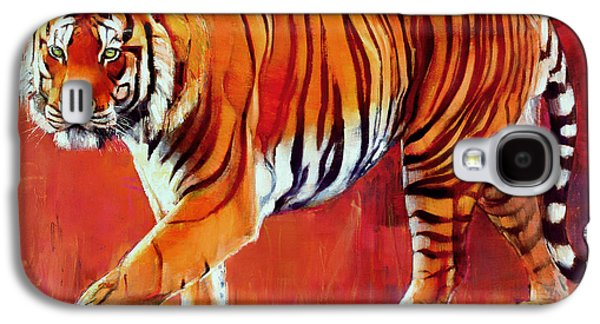 Bengal Tiger  Galaxy S4 Case by Mark Adlington