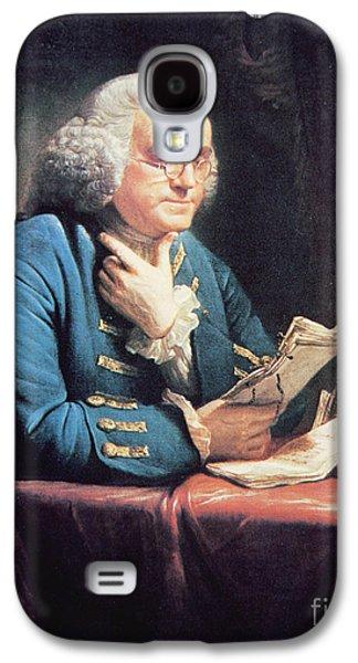 Benjamin Franklin Galaxy S4 Case by American School