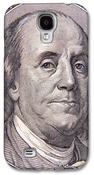 Benjamin Franklin Galaxy S4 Cases - Benjamin Franklin Galaxy S4 Case by Les Cunliffe