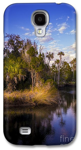 Sun Galaxy S4 Cases - Bent Stream Galaxy S4 Case by Marvin Spates