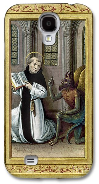 Reformer Paintings Galaxy S4 Cases - BERNARD de CLAIRVAUX Galaxy S4 Case by Granger