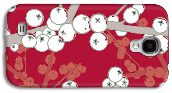 Berries Galaxy S4 Cases - Berry Bright Galaxy S4 Case by Sarah Hough