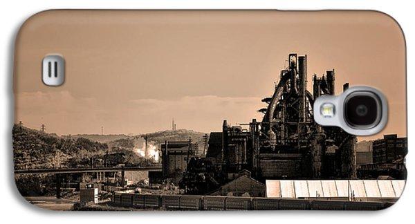 Bethlehem Galaxy S4 Cases - Bethlehem Steel Galaxy S4 Case by Bill Cannon