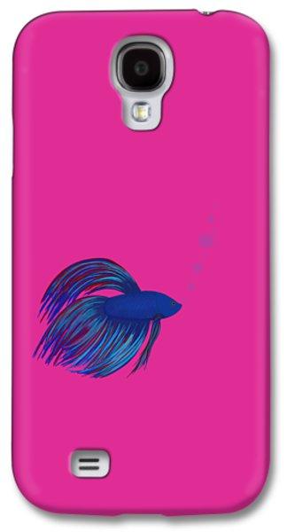 Betta Galaxy S4 Cases - Betta Fish Galaxy S4 Case by Sharon Norman