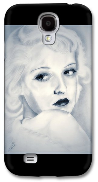 Charlotte Drawings Galaxy S4 Cases - Bette Davis Galaxy S4 Case by Fred Larucci