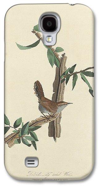 Bewick's Long-tailed Wren Galaxy S4 Case by John James Audubon