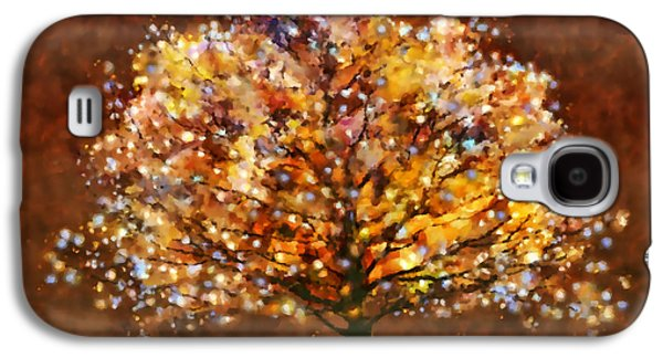 Nature Abstract Galaxy S4 Cases - Bewitched Galaxy S4 Case by Valerie Anne Kelly