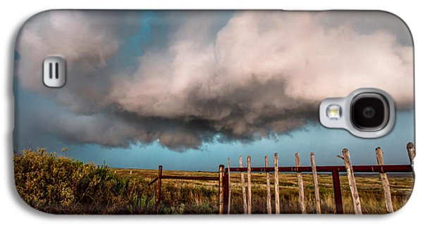 Storm Prints Photographs Galaxy S4 Cases - Beyond the Fence Galaxy S4 Case by Sean Ramsey