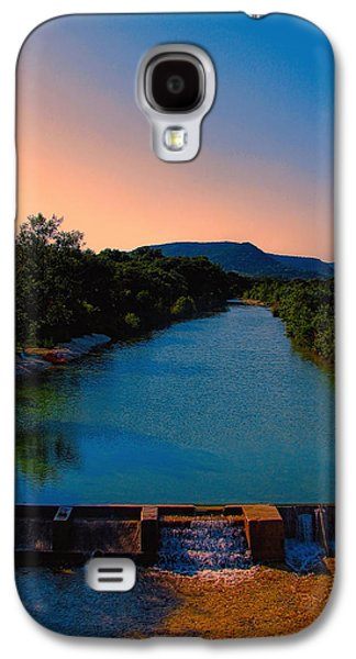 Dreamscape Galaxy S4 Cases - Beyond the Golden Hour Galaxy S4 Case by Wendy J St Christopher